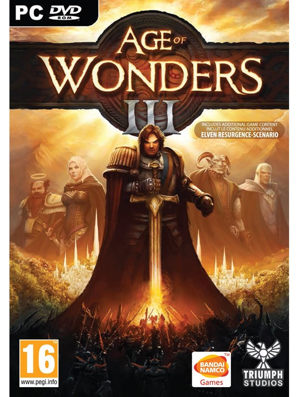 Image of   Age of Wonders III - Mac - Strategi