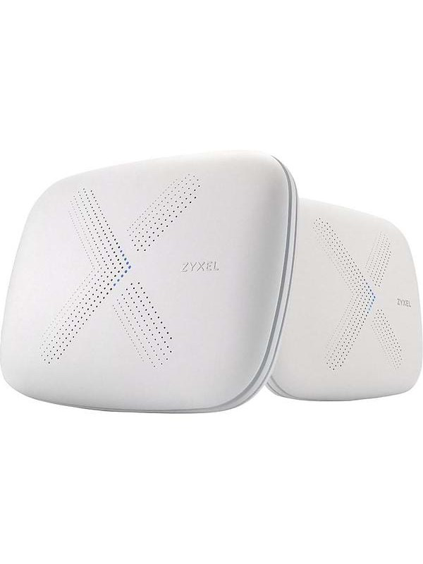 ZyXEL Multy X WiFi System (Pack of 2) AC3000 Tri-Band WiFi – Mesh router Wi-Fi 5