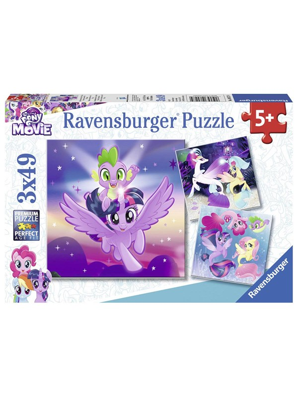 Ravensburger My Little Pony - Adventures with the Ponies 3x49s