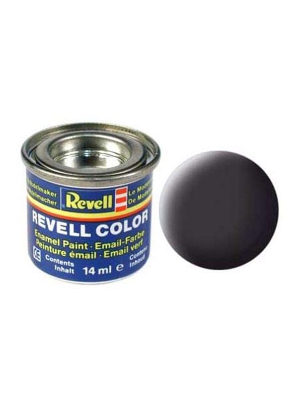 Image of   Revell enamel paint # 06-Tar black Mat