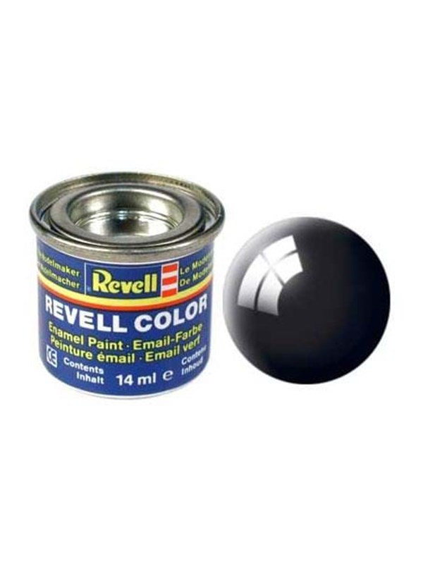 Image of   Revell enamel paint # 07-black Shiny