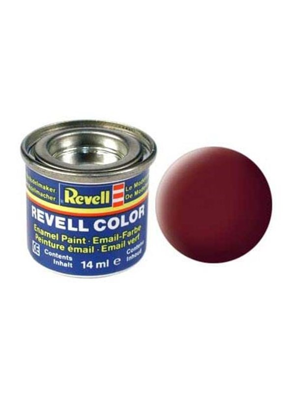 Image of   Revell enamel paint # 37-roof tile-red Mat