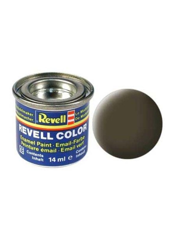 Image of   Revell enamel paint # 40-black-green Matt