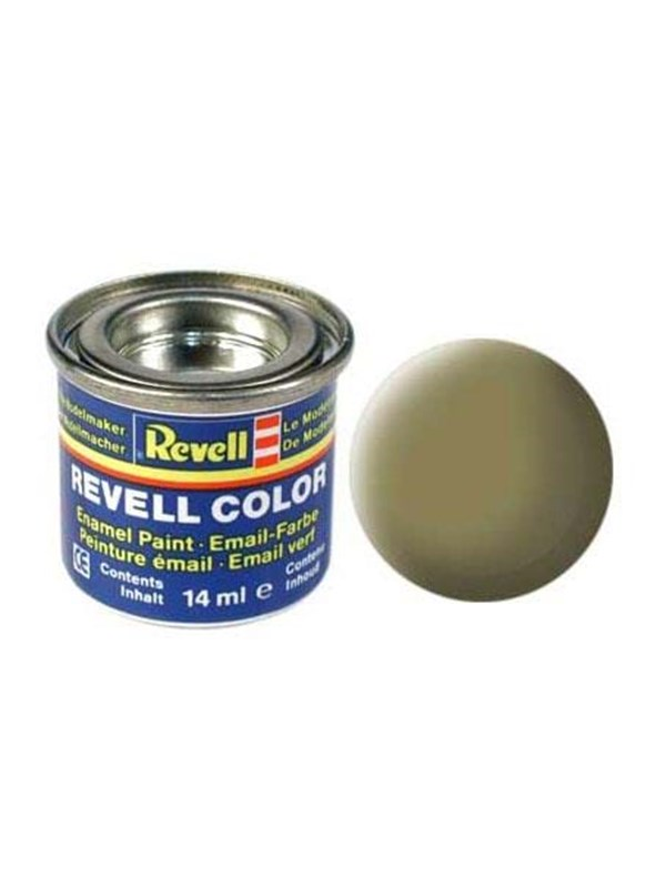 Image of   Revell enamel paint # 42-olive yellow Mat