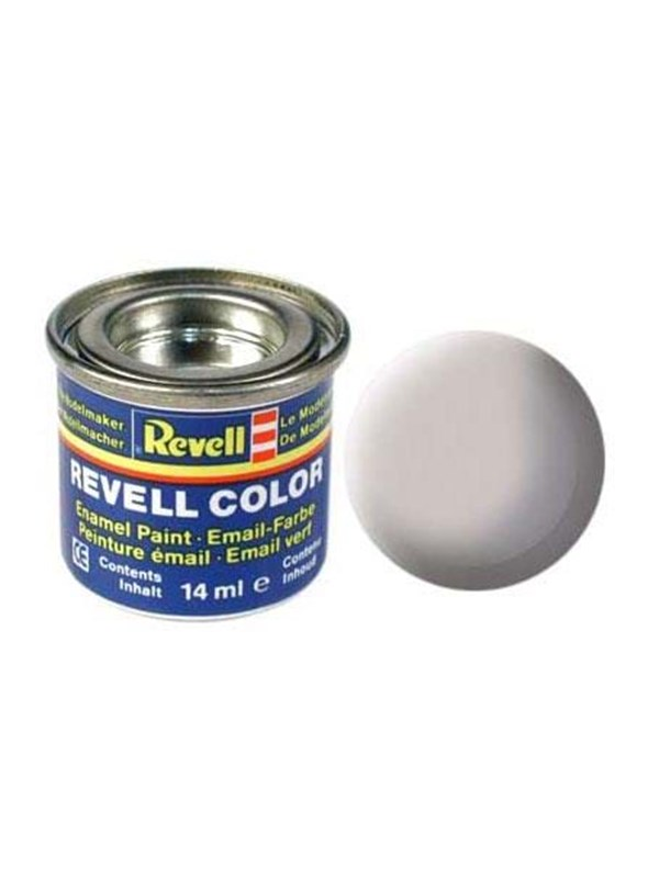 Image of   Revell enamel paint # 43-Medium grey Mat
