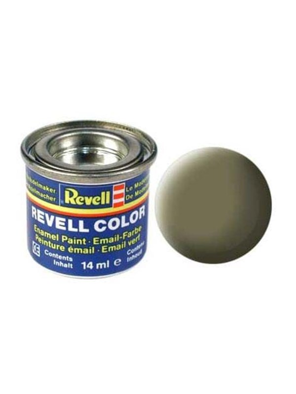 Image of   Revell enamel paint # 45-Light Olive Matt