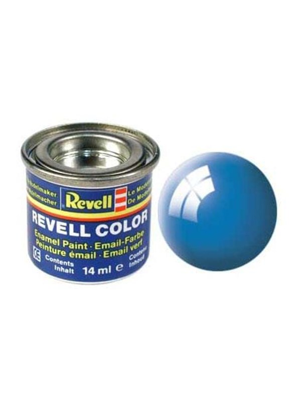 Image of   Revell enamel paint # 50-light blue shiny
