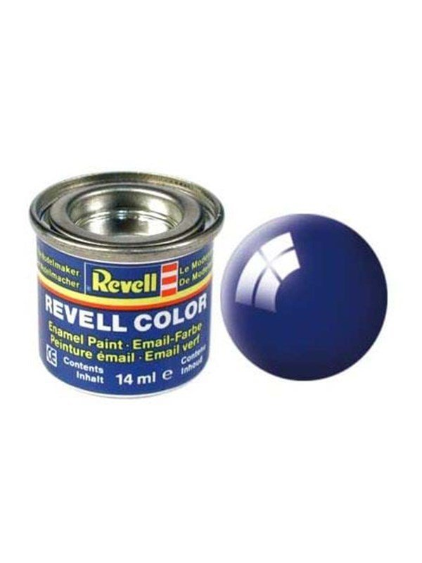 Image of   Revell enamel paint # 51-51 Ultra Marine Blue shi
