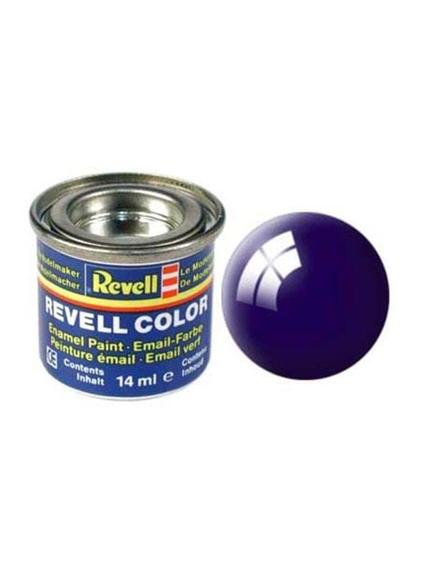 Image of   Revell enamel paint # 54-night blue Shiny