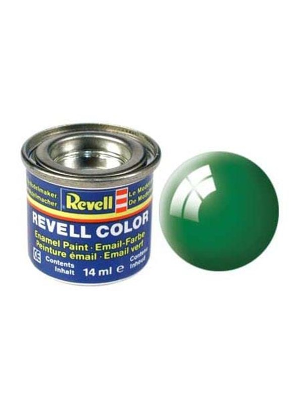 Image of   Revell enamel paint # 61-emerald green Shiny