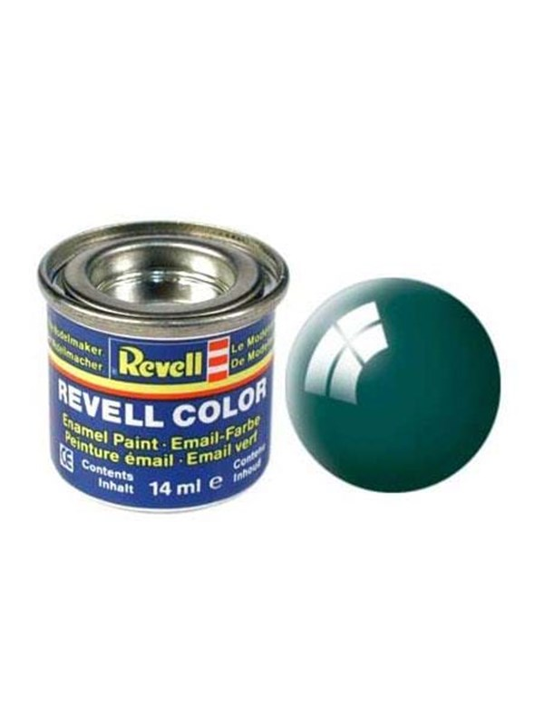 Image of   Revell enamel paint # 62-moss green shiny