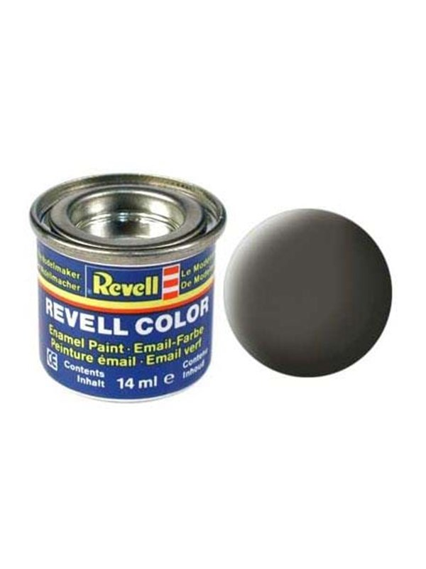 Image of   Revell enamel paint # 67-Green-grey Mat