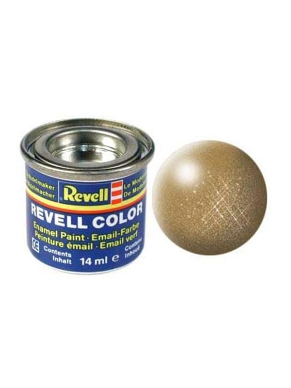 Image of   Revell enamel paint # 92-brass Metallic