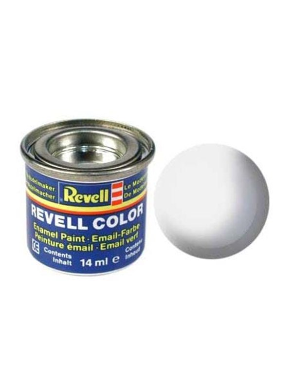 Image of   Revell enamel paint # 301-White silk Matt