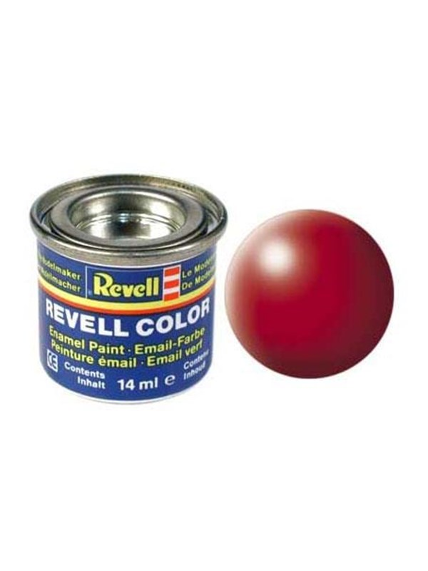 Image of   Revell enamel paint # 330-Fire Red silk Matt