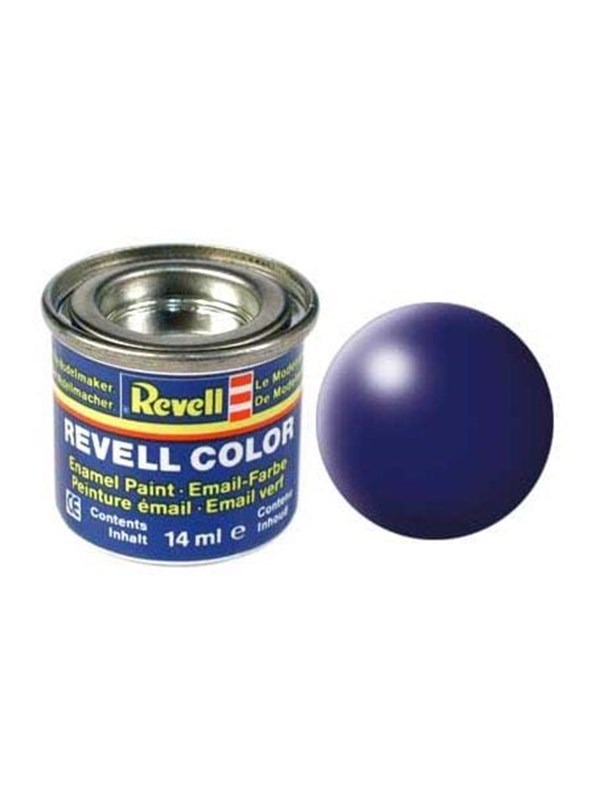 Image of   Revell enamel paint # 350-blue silk Matt