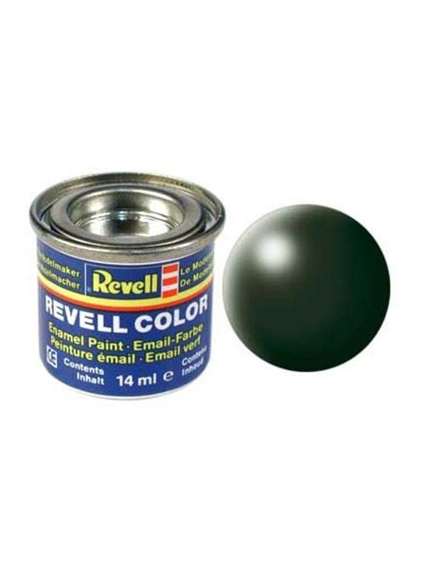 Image of   Revell enamel paint # 363-dark green silk Matt