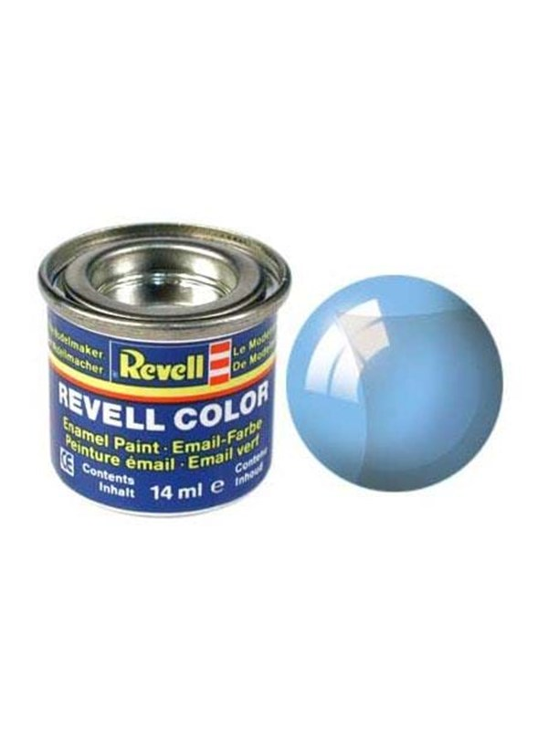 Image of   Revell enamel paint # 752-blue transparent