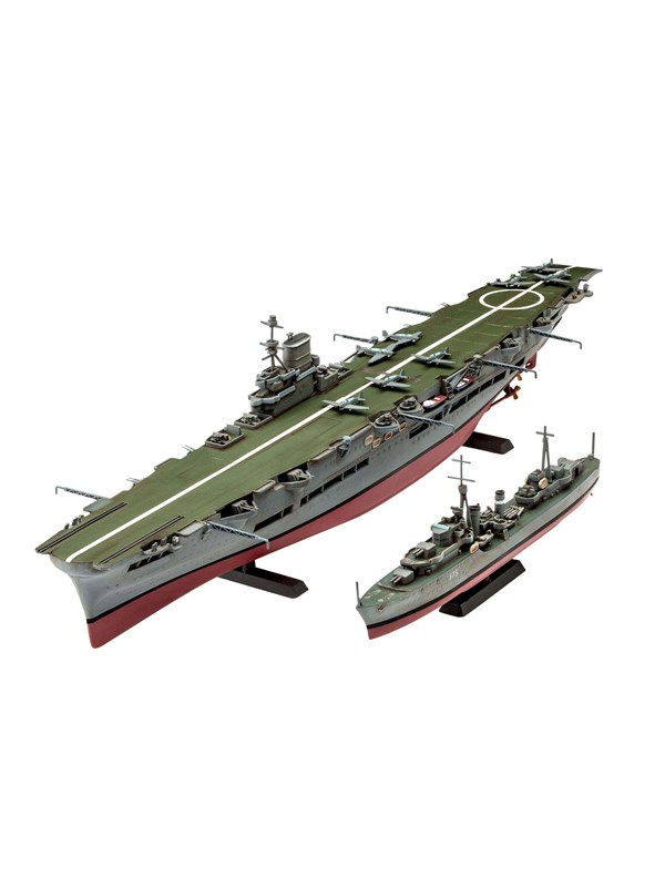 Image of   Revell HMS Ark Royal & Tribal Class Destoyer