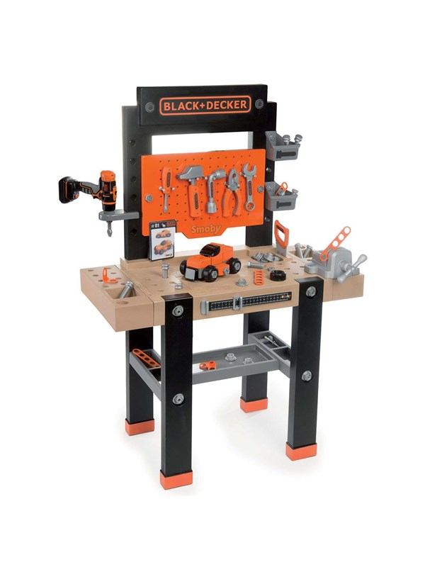 Image of   Smoby Black & Decker Work Bench Center