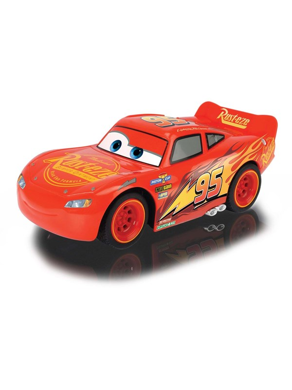 Image of   Dickie RC Cars 3 Turbo Racer Lightning McQueen