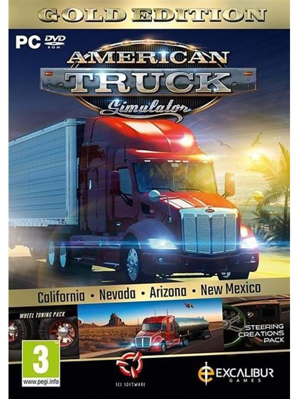 Image of   American Truck Simulator: Gold Edition - Windows - Simulator