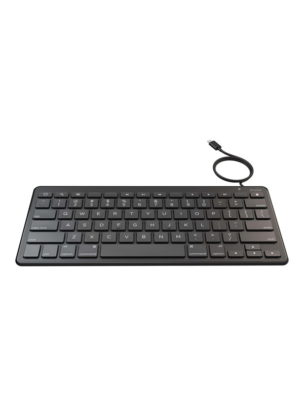Image of   Zagg Wired Series Education - Tastatur - Sort