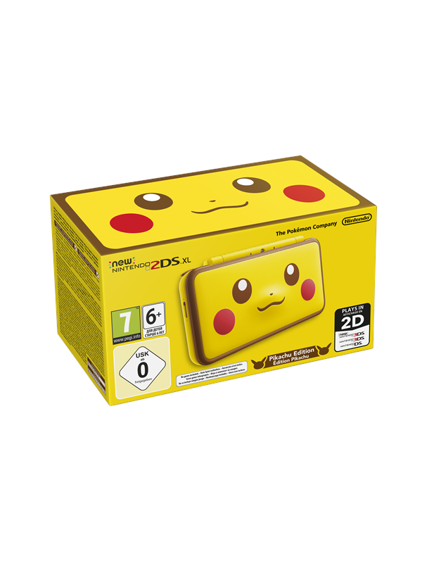 Image of   Nintendo New 2DS XL - Pikachu Edition