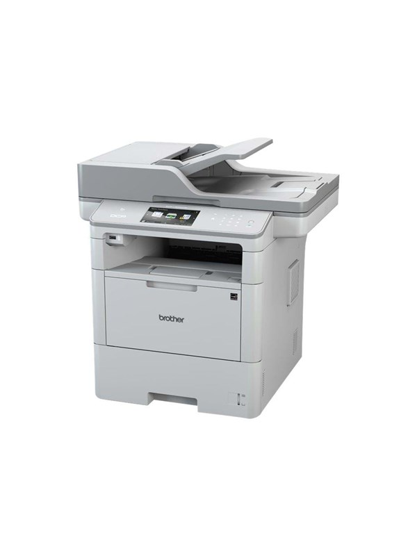 Image of   Brother DCP-L6600DW - multifunktionsprinter (S/H) Laserprinter Multifunktion - Monokrom - Laser