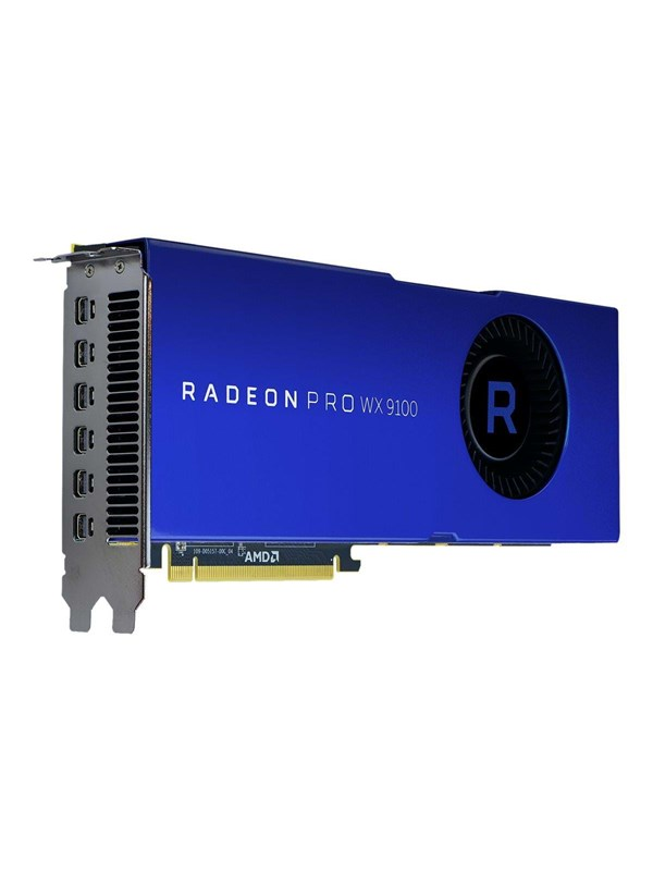 Image of   AMD Radeon Pro WX 9100 - 16GB HBM2 - Grafikkort