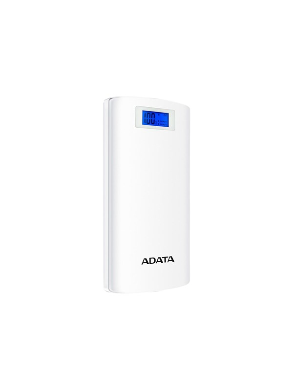 Image of   A-Data ADATA P20000D Powerbank - Hvid -