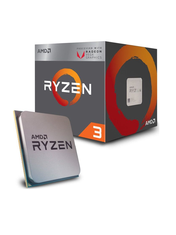 Image of   AMD Ryzen 3 2200G Wraith Stealth - Raven Ridge CPU - 4 kerner 3.5 GHz - AMD AM4 - AMD Boxed (PIB - med køler)