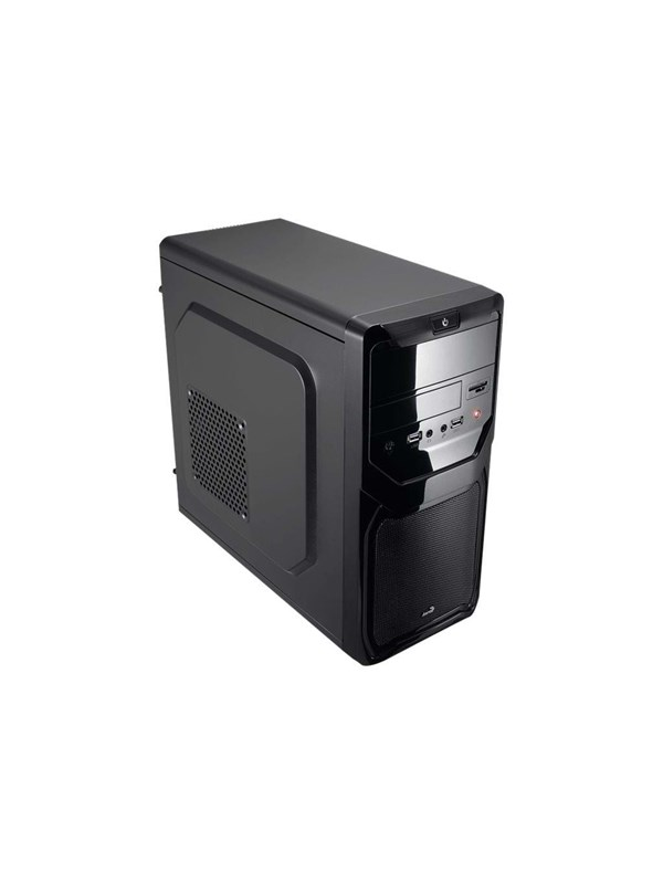 Image of   AeroCool QS-183 Advance Black - Kabinet - Miditower - Sort