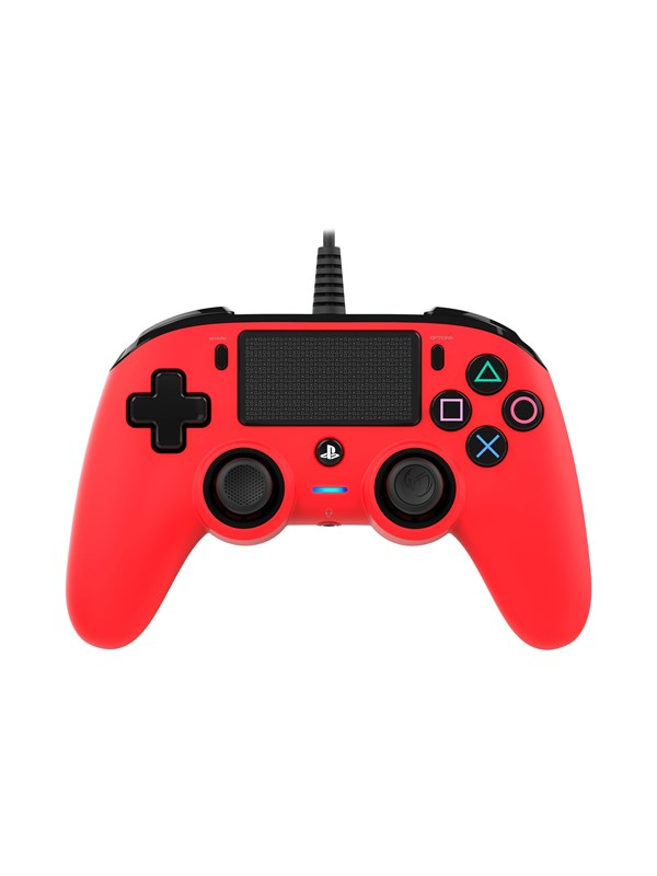 Image of   BigBen Interactive Nacon Compact Controller Red - Gamepad - Sony PlayStation 4