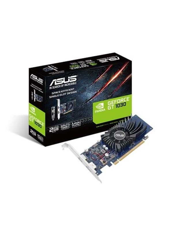 Image of   ASUS GeForce GT 1030 Silent Low Profile - 2GB GDDR5 RAM - Grafikkort