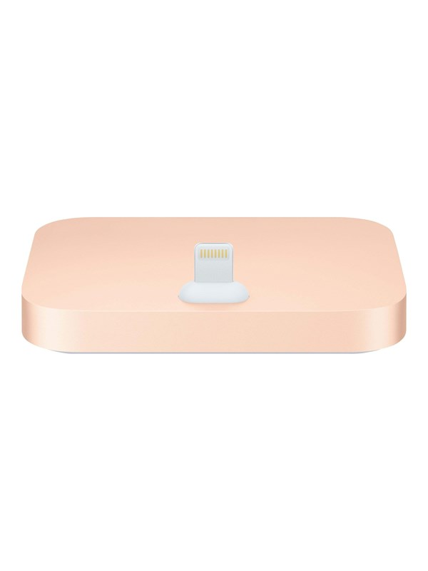 Image of   Apple iPhone Lightning Dock - Gold