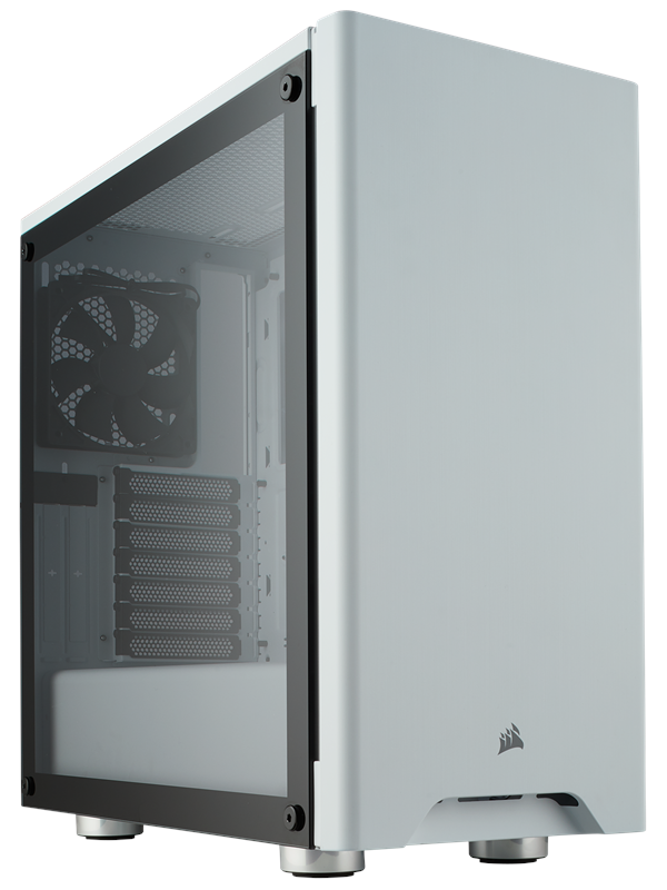 Image of   Corsair Carbide 275R Tempered Glass - White - Kabinet - Miditower - Hvid