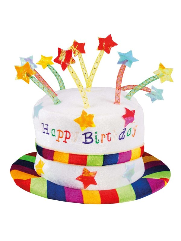 Image of   - Unknown Hat Happy Birthday
