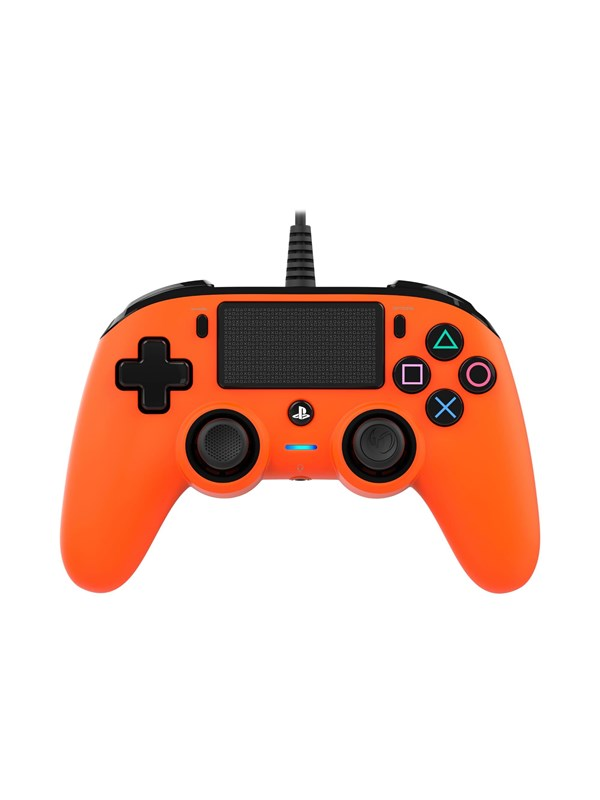 Image of   BigBen Interactive Nacon Compact Controller Orange - Gamepad - Sony PlayStation 4