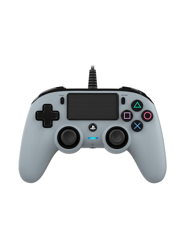 Image of   BigBen Interactive Nacon Compact Controller Grey - Gamepad - Sony PlayStation 4