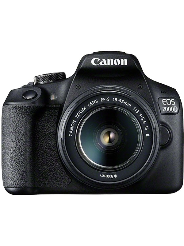 Image of   Canon EOS 2000D 18-55 IS II - Black