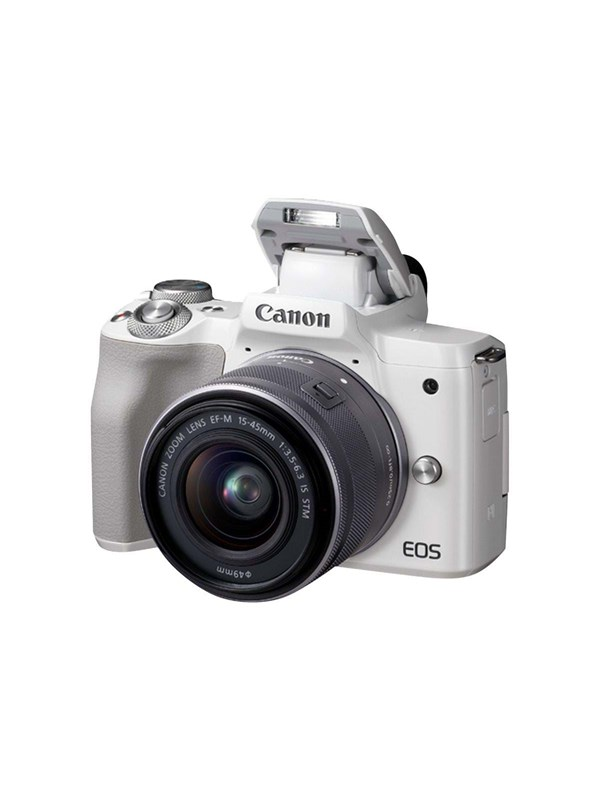 Image of   Canon EOS M50 15-45mm IS STM - White