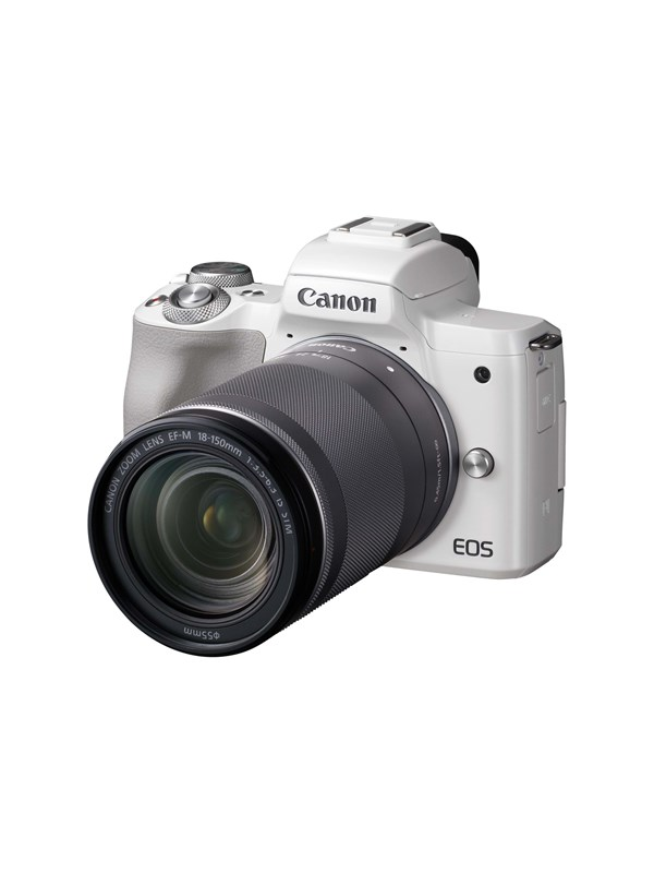 Image of   Canon EOS M50 18-150mm IS STM - White