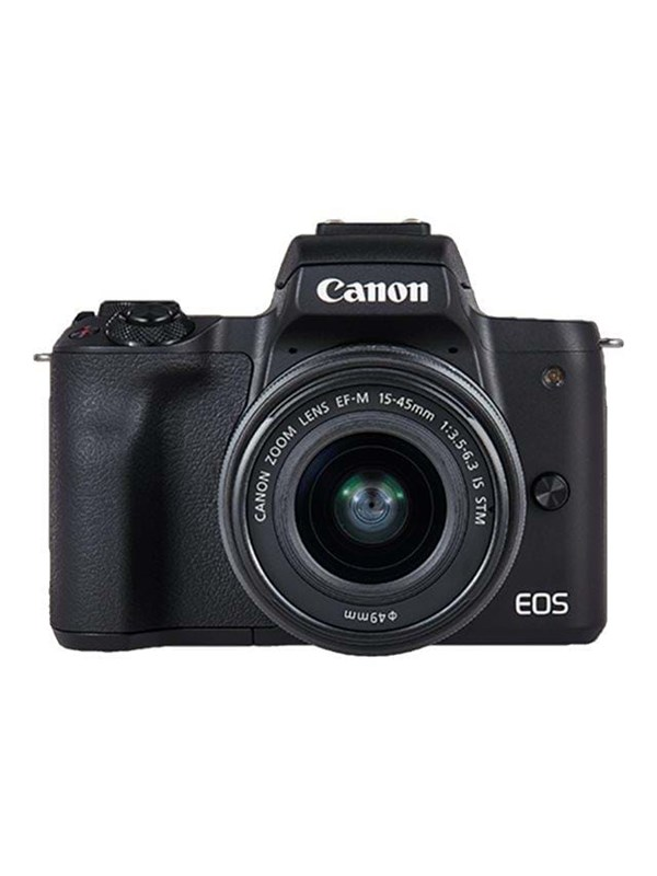 Image of   Canon EOS M50 15-45mm IS STM + EF-M 22mm - Black