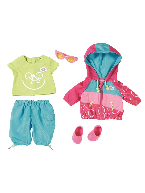 Image of   Baby Born ® Play Fun Biker Outfit