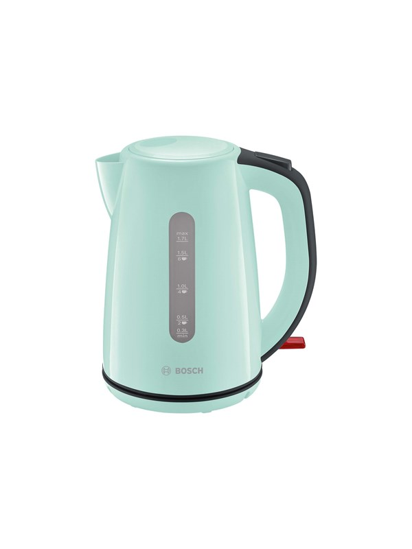 Image of   Bosch Elkedel CompactClass - Mint turquoise/black gray - 2200 W