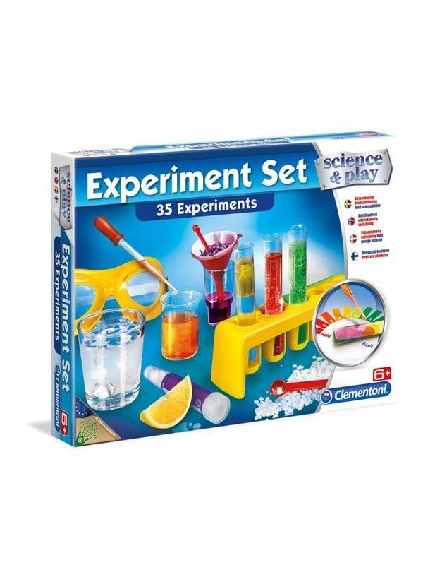 Image of   Clementoni Science & Play Experiment Set