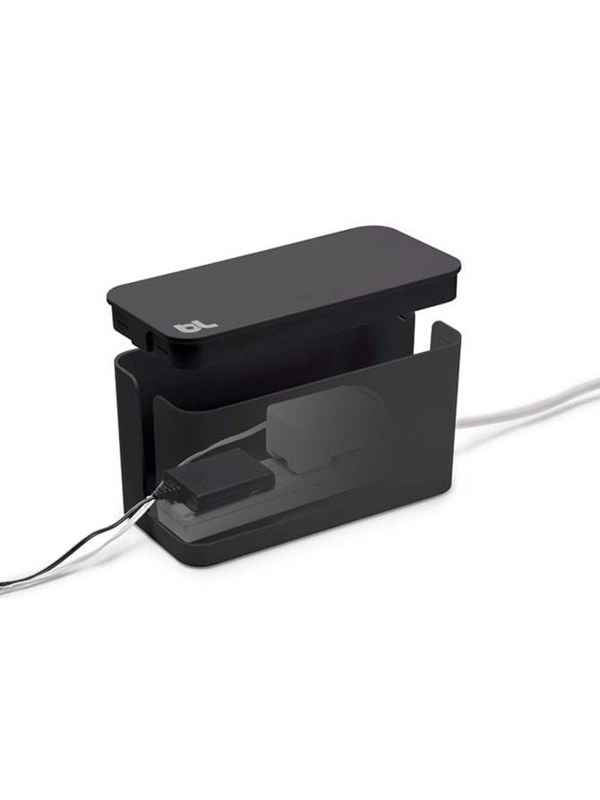 Image of   Bluelounge Design Cablebox Mini - Black