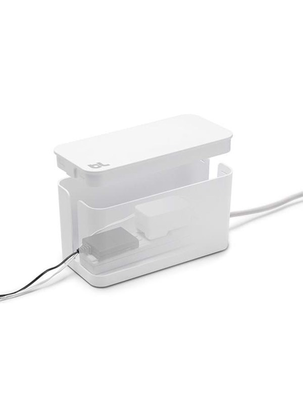 Image of   Bluelounge Design Cablebox Mini - White