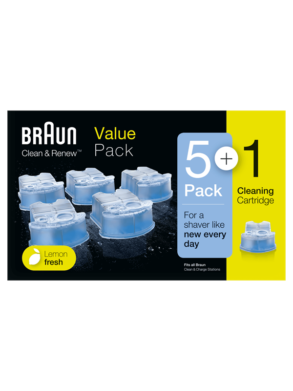 Image of   Braun Tilbehør Clean & Renew Refill Cartridges CCR
